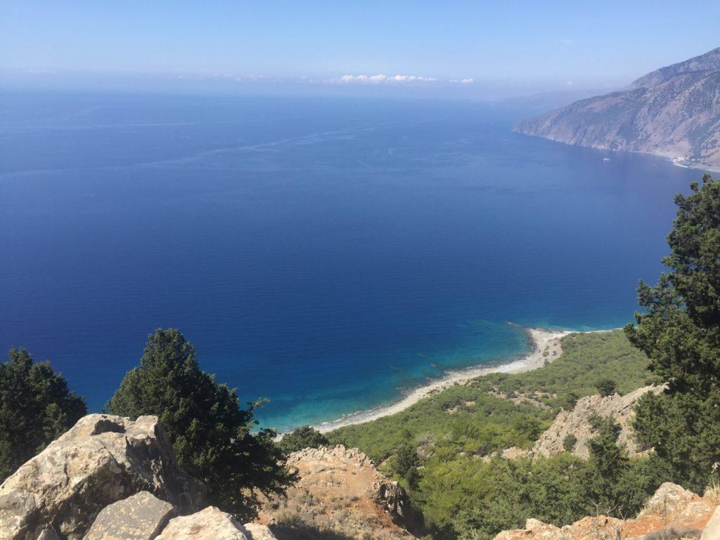 Sydkysten Kreta